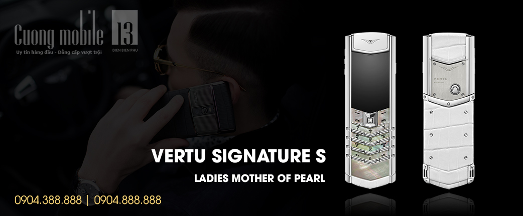 Vertu Ladies Mother of Pearl