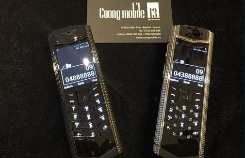 Mẫu điện thoại Vertu nào phù hợp với những người trung tuổi giàu có?