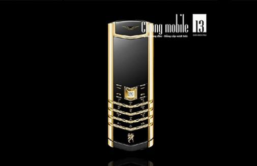 9 mẫu điện thoại Vertu mạ vàng sang trọng nhất hiện nay