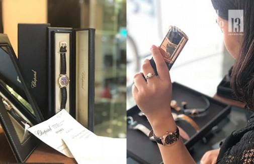Đồng hồ Chopard Rose Gold - đồng hồ thời trang cao cấp