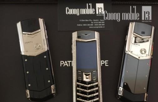 Cách nhận biết điện thoại Vertu chính hãng tại Hà Nội