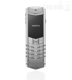 Vertu Signature S White Gold Sapphire