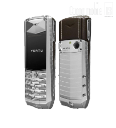 Vertu Ascent Aluminium Brown Leather