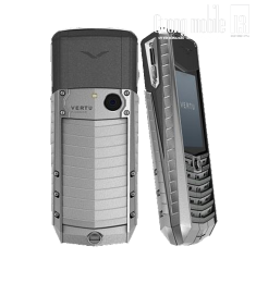 Vertu Ascent Aluminium Gun Metal Grey Rubber
