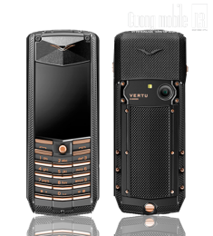 Vertu Ascent Black Red Gold Mixed Metals