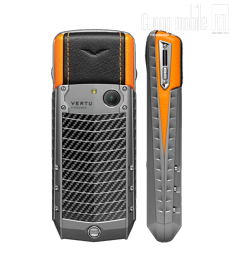 Vertu Ascent Carbon Orange