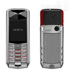 Vertu Ascent Knurled Red 90%