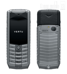 Vertu Ascent Titanium Black Leather