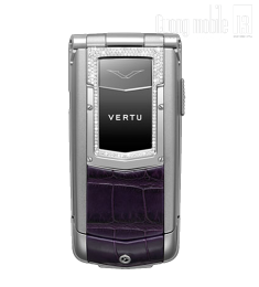 Vertu Ayxta Diamond Alligator Purple