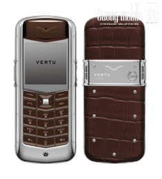 Vertu Constellation Brown Alligator 90%