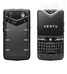Vertu Quest Carbon Fibre Black Stainless Steel