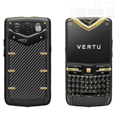 Vertu Quest Carbon Fibre Yellow Gold