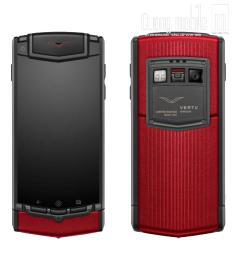 Vertu Ti Titanium Sunset Red