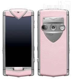 Vertu Touch Pink Leather