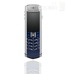 Vertu Signature S Navy Alligator